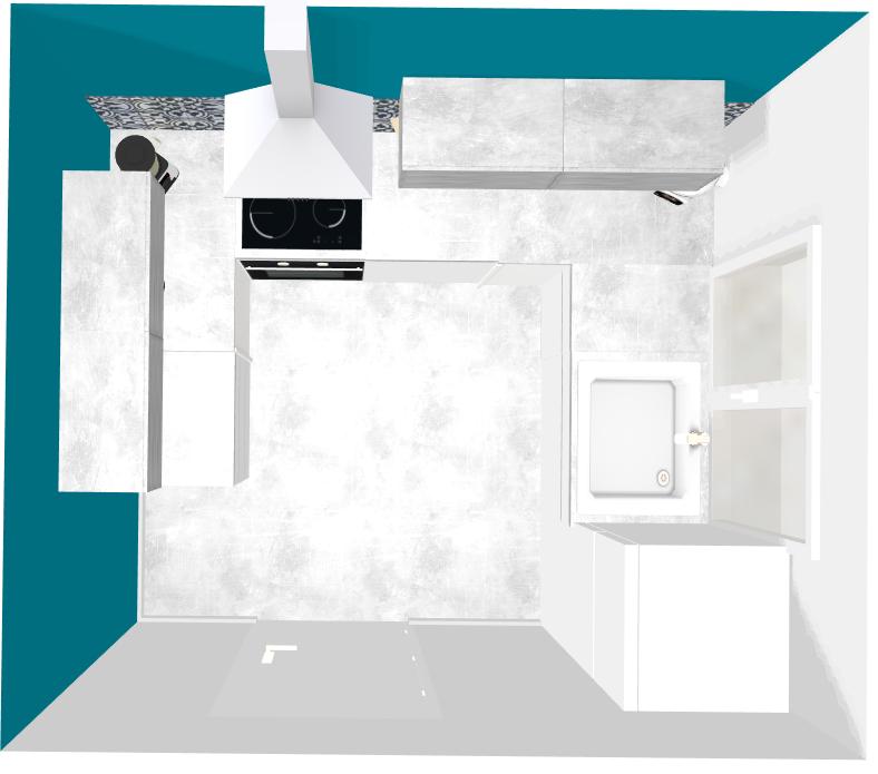 plan 3d cuisine renovation