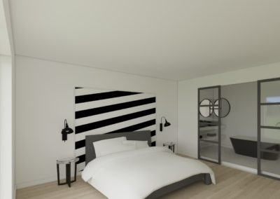 Chambre contemporaine