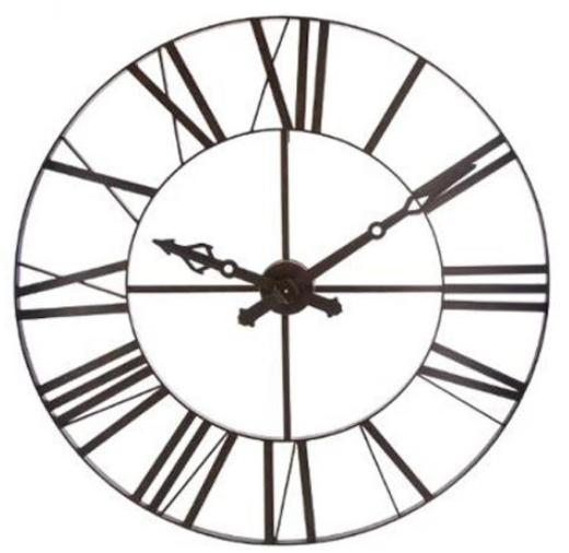 Horloge déco industrielle