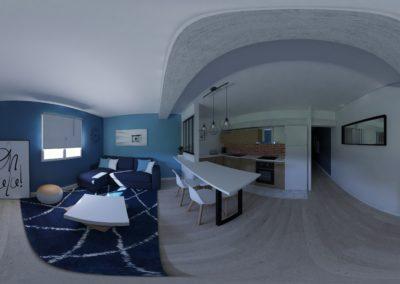Rénovation F3 pour location meublé