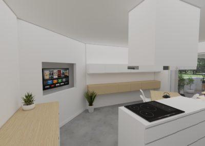 Appartement duplex japonisant