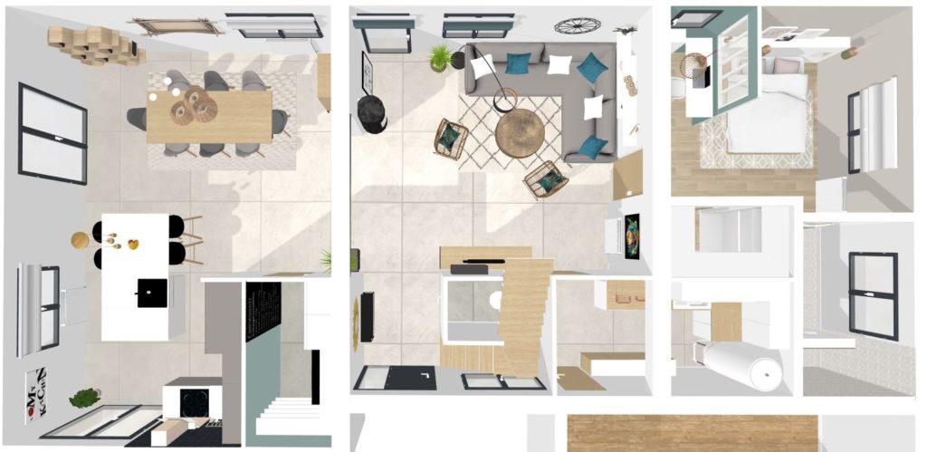Plan architecte maison loire Atlantique