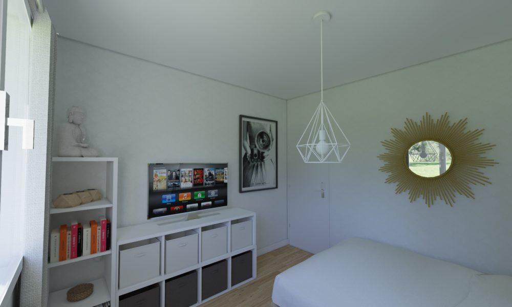 Décoration chambre style zen