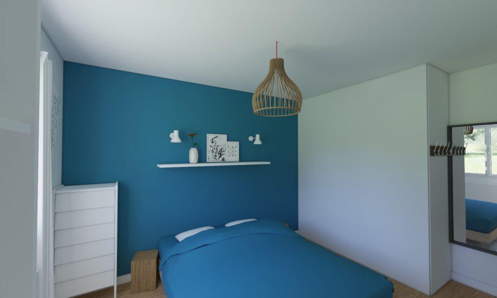 Décoration chambre bleu