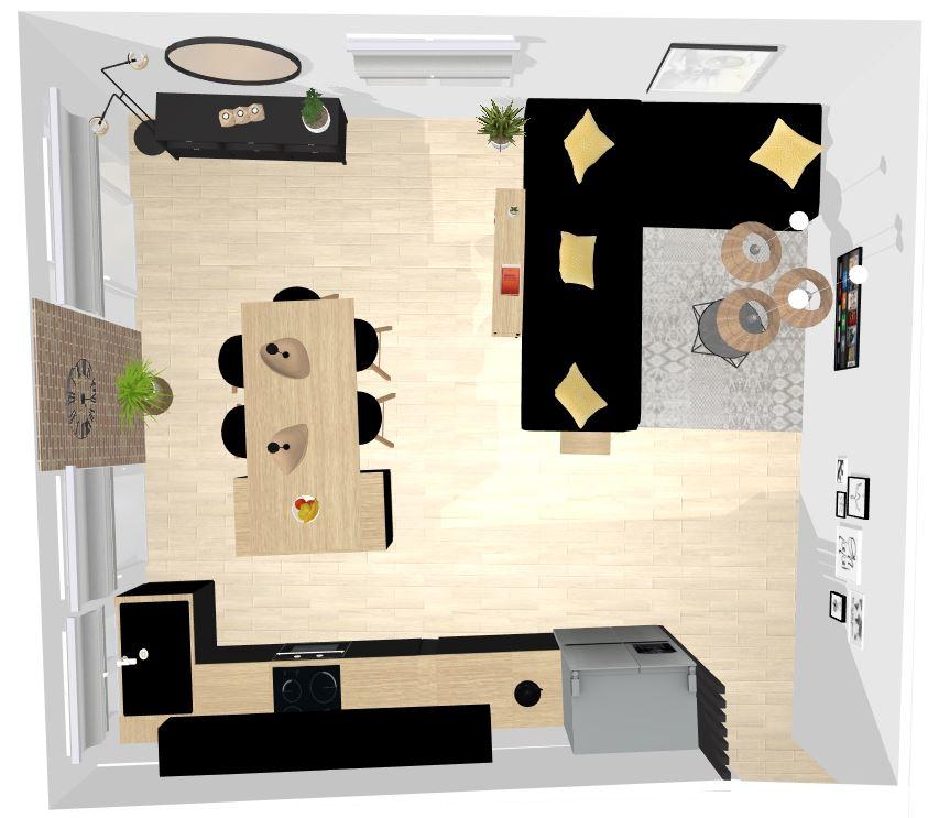architecte décoratrice d'intérieur en ligne piece de vie