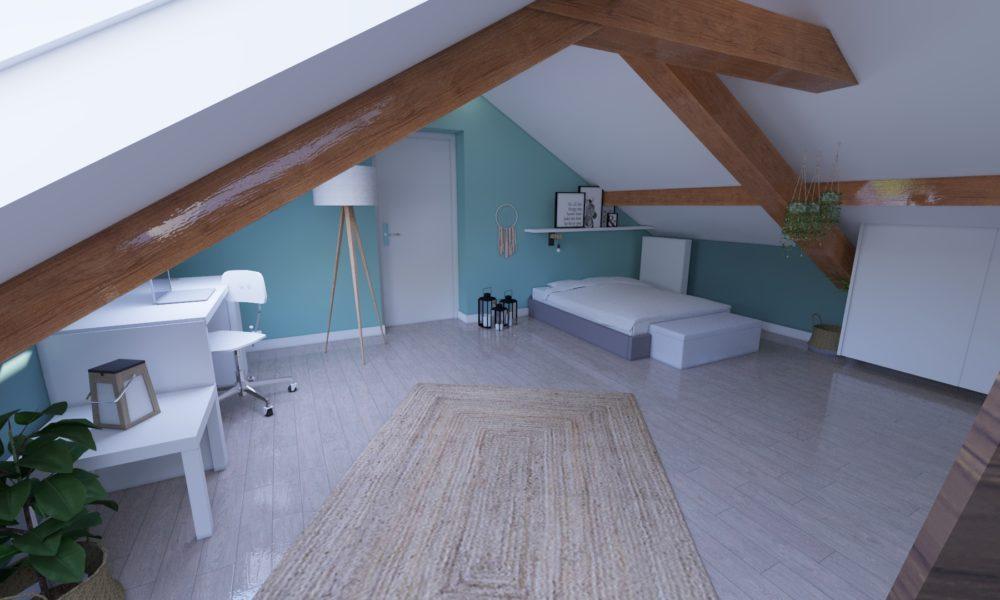 L'Atelier d'Angélique - aménagement et déco chambre verte