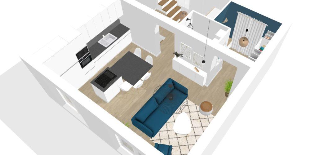 plan 3D en ligne décoration intérieure