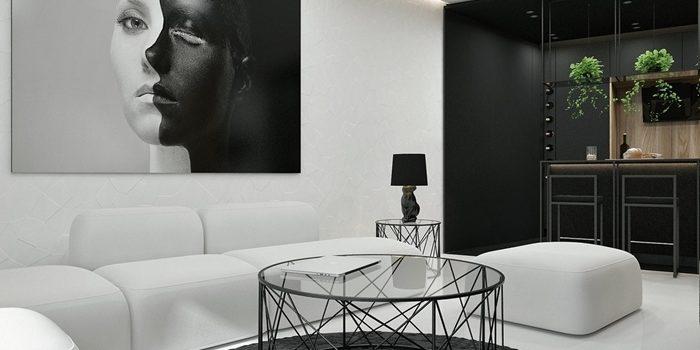 Décoration style contemporain