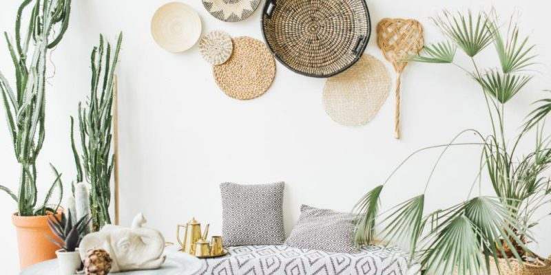 décoration style tropicale